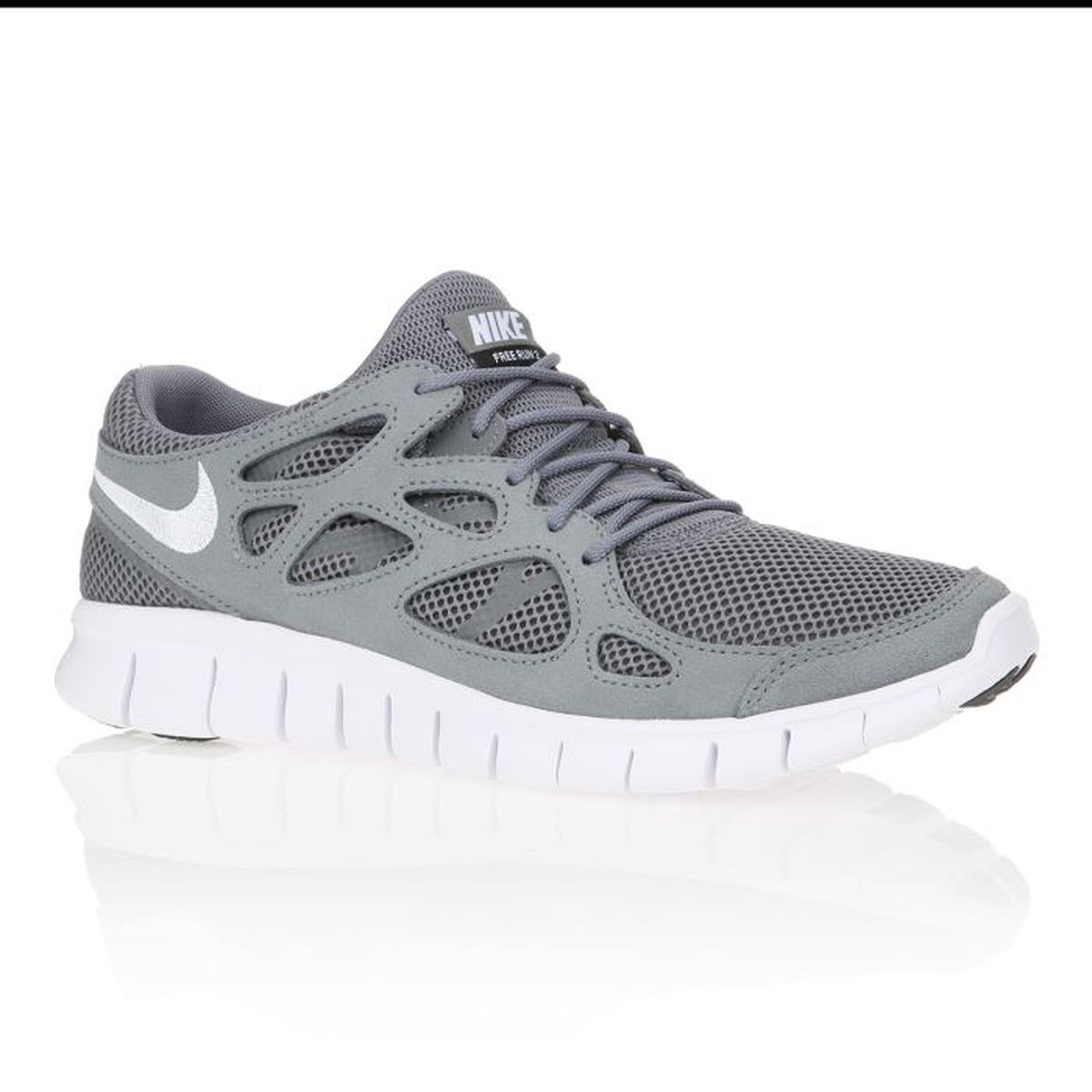 nike baskets free run 2 homme homme gris achat vente nike baskets free run 2 homme homme pas. Black Bedroom Furniture Sets. Home Design Ideas
