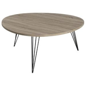 Table basse ronde scandinave achat vente table basse for Table basse ronde scandinave pas cher