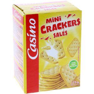 Crackers mini - Salés 75g