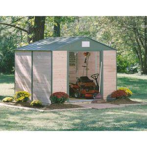 chalet de jardin en bois 15m2 achat vente chalet de. Black Bedroom Furniture Sets. Home Design Ideas