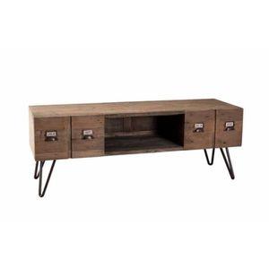 Meuble style industriel achat vente meuble style for Meubles tv style industriel