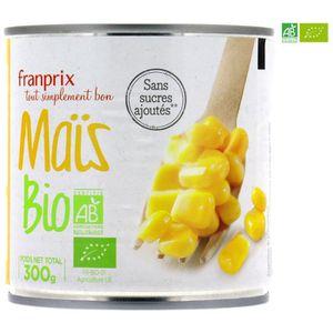 Franprix maïs doux en grains bio 425cl