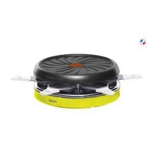 APPAREIL À RACLETTE TEFAL - Raclette 6 c colormania - RE128O12