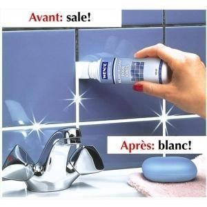 Produit blanchissant pour joints de salle de bain achat for Moisissure joints salle de bain