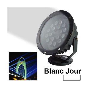 Projecteur led puissant couleur exterieur achat vente for Spot exterieur couleur