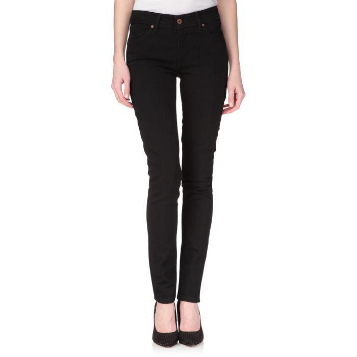 levi 39 s jean slight curve skinny rince black femme rinse. Black Bedroom Furniture Sets. Home Design Ideas