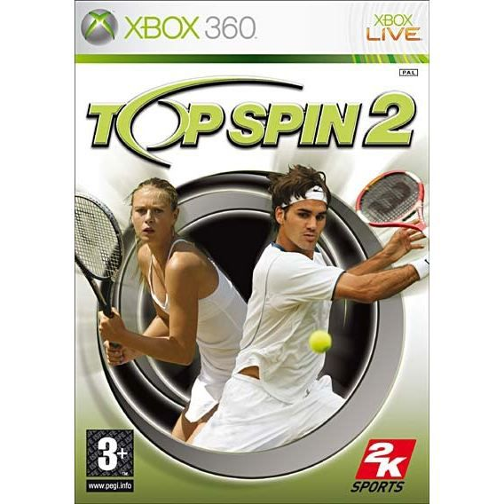 JEUX XBOX 360 TOP SPIN 2