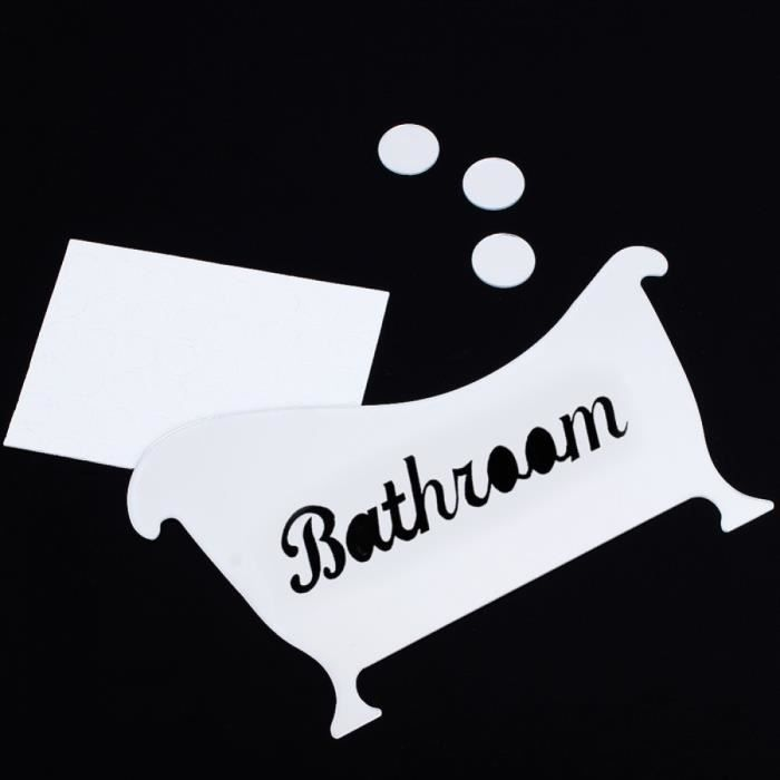 sticker toilette porte achat vente sticker toilette. Black Bedroom Furniture Sets. Home Design Ideas