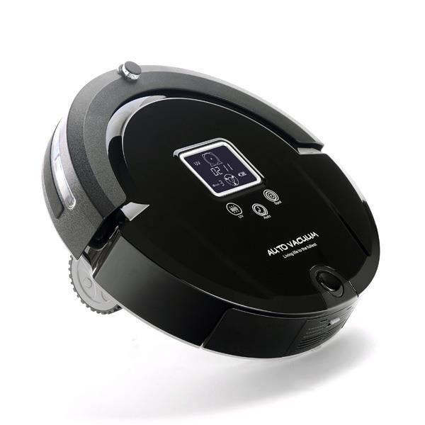 aspirateur robot amtidy a320 noir achat vente. Black Bedroom Furniture Sets. Home Design Ideas