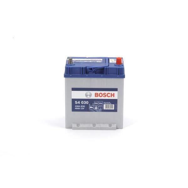 batterie bosch bosch s4030 40ah 330a achat vente batterie v hicule batterie bosch bosch. Black Bedroom Furniture Sets. Home Design Ideas