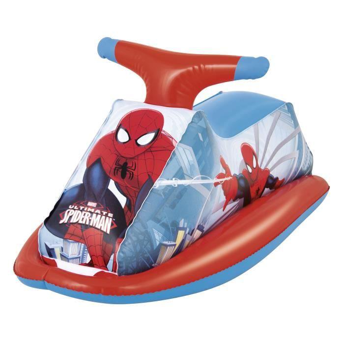 Spiderman moto gonflable achat vente jeux de piscine les soldes sur cdiscount cdiscount - Spider man moto ...