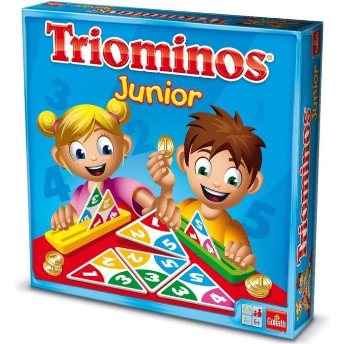 GOLIATH Triominos Junior - Achat / Vente jeu société - plateau GOLIATH Triominos Junior - Cdiscount