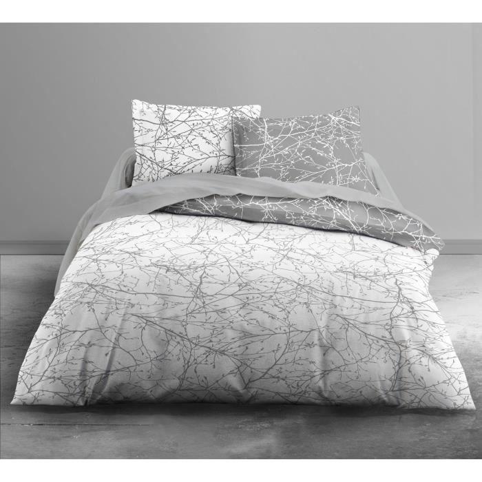today parure de couette enjoy steppe 100 coton 1 housse de couette 240x260 cm 2 taies d. Black Bedroom Furniture Sets. Home Design Ideas
