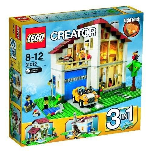lego creator 31012 la maison de famille achat vente assemblage construction cdiscount. Black Bedroom Furniture Sets. Home Design Ideas