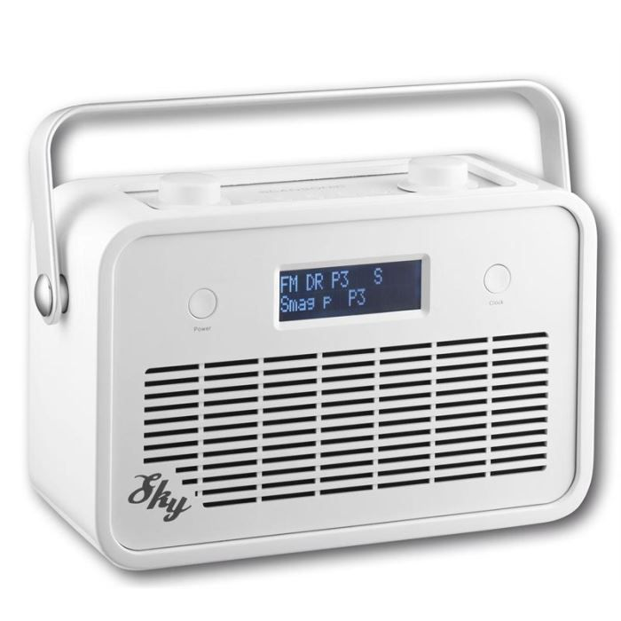 scansonic sky radio fm portable blanc radio cd. Black Bedroom Furniture Sets. Home Design Ideas