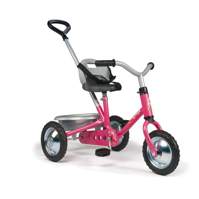 smoby tricycle zooky classique rose achat vente. Black Bedroom Furniture Sets. Home Design Ideas