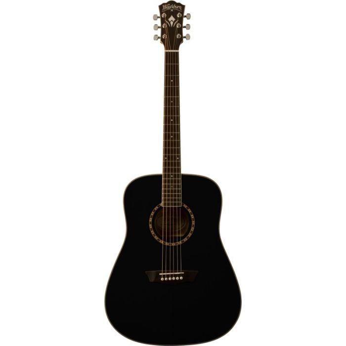 guitare folk acoustique washburn wd10sb noire pas cher achat vente guitare cdiscount. Black Bedroom Furniture Sets. Home Design Ideas