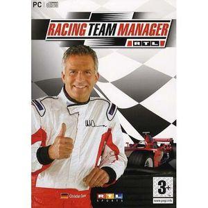 JEU PC RACING TEAM MANAGER / JEU PC