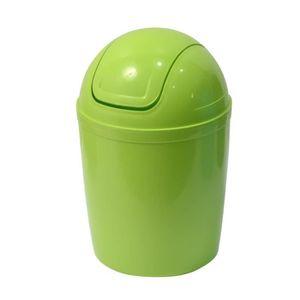 Mini poubelle de sdb pp verte achat vente poubelle corbeille mini poubelle de sdb pp verte - Mini poubelle salle de bain ...