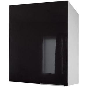 ÉLÉMENTS HAUT Meuble haut de cuisine L 60 cm - Noir