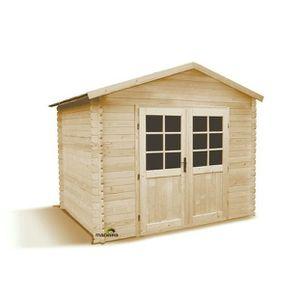 abris de jardin bois 4m2 28 mm achat vente abris de. Black Bedroom Furniture Sets. Home Design Ideas