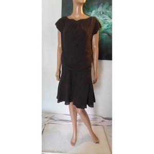robe droite fluide achat vente robe droite fluide pas cher les soldes sur cdiscount. Black Bedroom Furniture Sets. Home Design Ideas