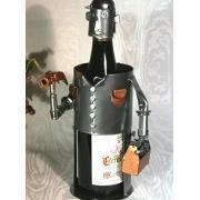 Porte bouteille homme bricoleur achat vente porte bouteille porte bouteil - Porte bouteille alcool ...