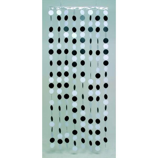 rideau de porte en disques plastiques achat vente rideau de porte plastique cdiscount. Black Bedroom Furniture Sets. Home Design Ideas