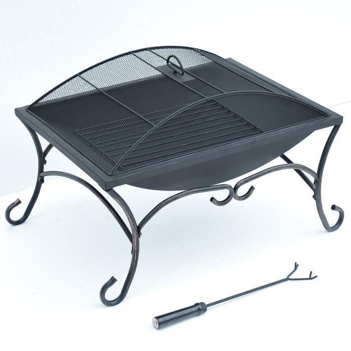 Bras ro barbecue chemin exterieur jardin achat vente for Accessoire exterieur jardin