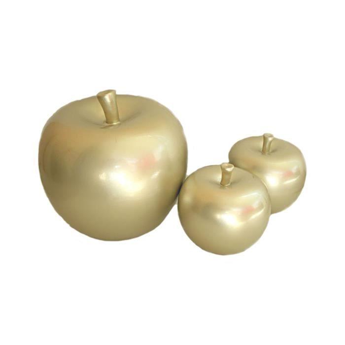 pomme ceramique pour decoration ustensiles de cuisine. Black Bedroom Furniture Sets. Home Design Ideas