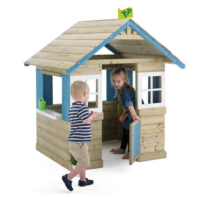 Maison enfant en bois otdoor toys bramble cottage achat for Maison plein air enfant