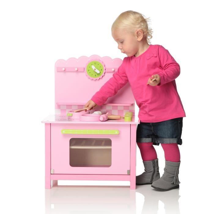 Bkids premi re cuisine enfant en bois achat vente for Cuisine 18 mois