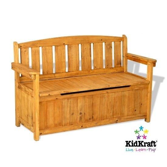 Banc de rangement de jardin kidkraft achat vente banc banc de rangement d - Ikea banc de rangement ...