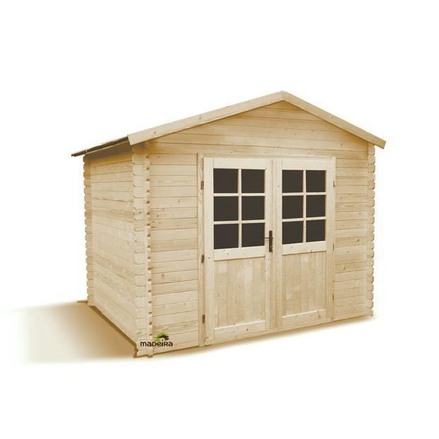 Abri de jardin bois zoug m2 en 28mm achat vente - Abri jardin bois 28mm ...