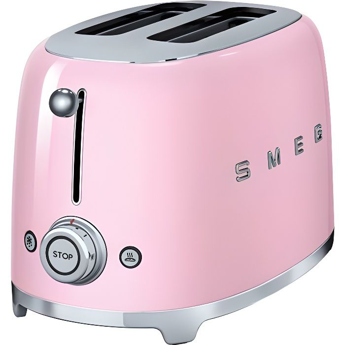 GRILLE-PAIN - TOASTER SMEG TSF01PKEU GRILLE-PAIN