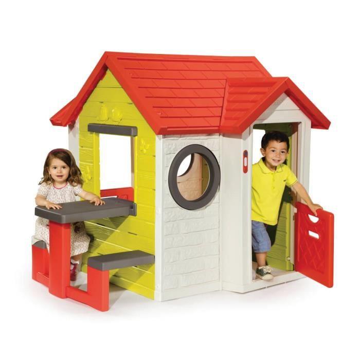 Maison my houde et table achat vente maisonnette for Maison plein air enfant