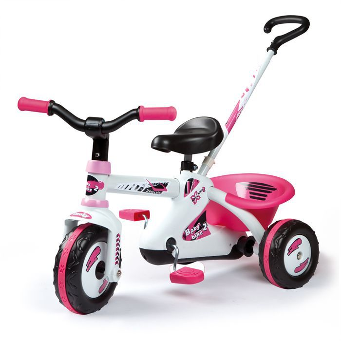 smoby first bike sport line girl achat vente tricycle. Black Bedroom Furniture Sets. Home Design Ideas