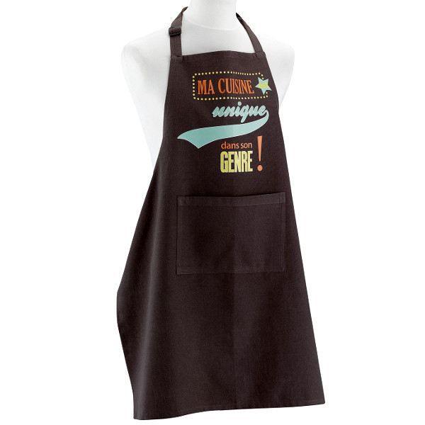 Tablier de cuisine ma cuisine est unique ma achat vente tablier de c - Ma reduc vente unique ...