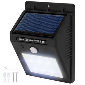 Spot solaire avec d tecteur de mouvement achat vente - Lumiere exterieur solaire avec detecteur ...