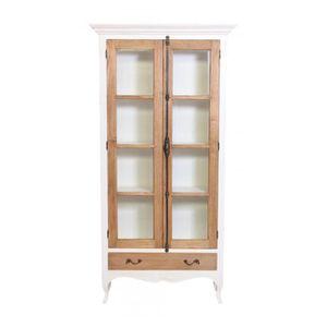 armoire bois massif blanc achat vente armoire bois massif blanc pas cher cdiscount. Black Bedroom Furniture Sets. Home Design Ideas