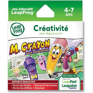 JEU CONSOLE EDUCATIVE LEAPFROG Explorer Jeu LeapPad Mr Crayon