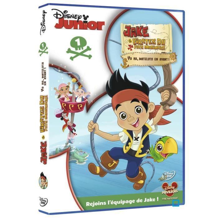 Dvd jake et les pirates du pays imaginaire vol en dvd - Jake et les pirates ...