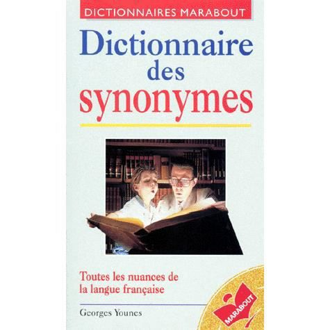 dictionnaire synonymes achat vente livre younes. Black Bedroom Furniture Sets. Home Design Ideas