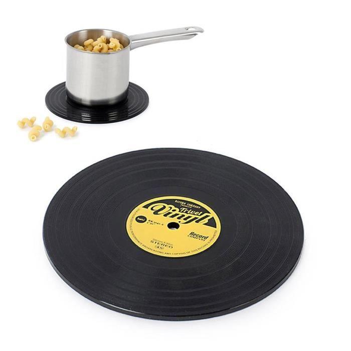 dessous de plat silicone disque vinyle achat vente dessous de plat cdiscount. Black Bedroom Furniture Sets. Home Design Ideas