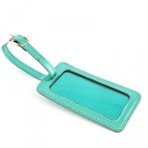 Tiquette de bagage mellow yello bleu achat vente for 1 porte etiquette de voyage