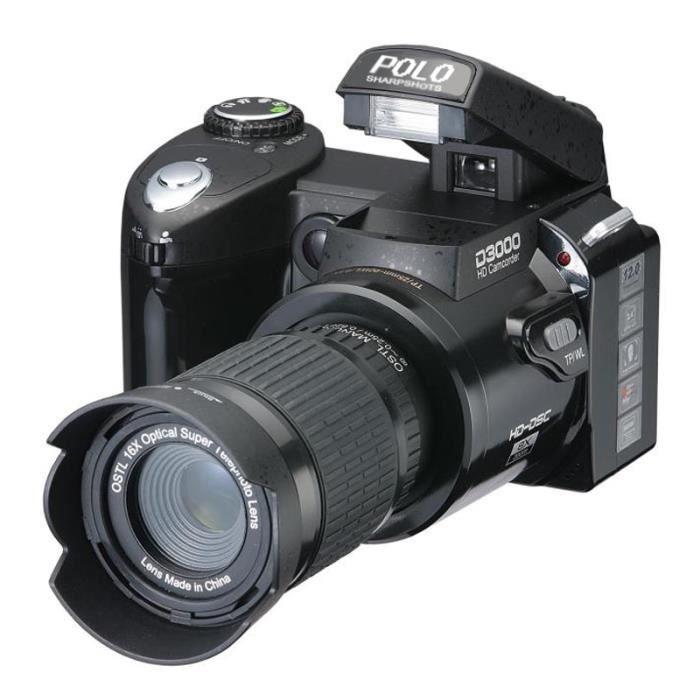 d3000 appareil photo num rique cam scope hd 16 pouces 16. Black Bedroom Furniture Sets. Home Design Ideas