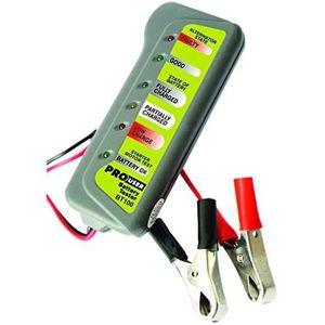 TESTEUR ÉLECTRIQUE Testeur de Batterie professionnel avec pinces