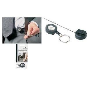 Durable porte badge avec anneau porte cl s ant achat for Meuble porte enrouleur