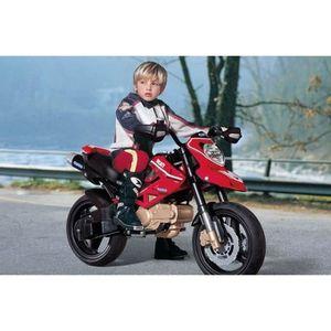MOTO - SCOOTER DUCATI Moto electrique enfant Hypermotard 12 volts