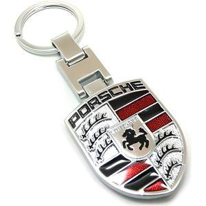 Porsche Argent Porte-clés